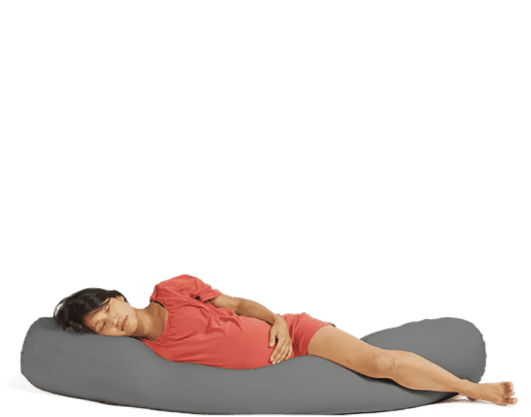 Beanbag Toby Pregnancy Pillow Toby - Zwanger; Dark Grey